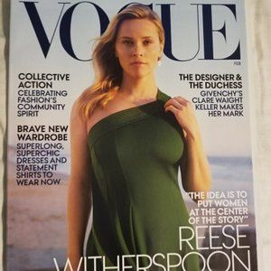 Vogue Magazine | Reese Witherspoon | February 2019